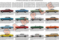 1970 Buick Skylark GS GSX SportWagon model year poster