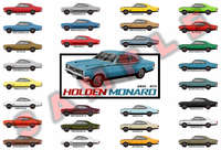 Customised Holden HK HT HG Monaro GTS 327 350 poster