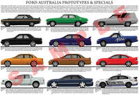 Ford & FPV Falcon Concepts & Showcar Specials poster
