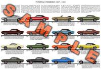 Pontiac Firebird 1967 1968 1969 Sprint 400 Ram Air Trans Am