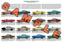 Plymouth Barracuda production history 1967 to 1969 Cuda S