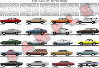 Ford XC Falcon Fairmont ZF Fairlane Cobra expanded poster