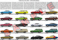 Ford XB Falcon Fairmont ZF Fairlane expanded poster GT 351
