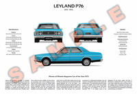 Leyland P76 3-Way Customised Poster Print